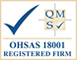 BS OHSAS 18001 Accredited